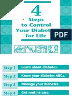 4 Steps for Diabetes Control