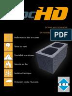 SCPR - Fiche Réglementation - Bloc HD