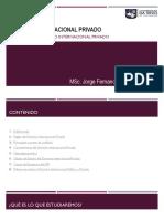 2. Fuentes Del Derecho Internacional Privado