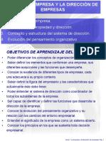 Tema 1 La Empresa y La Dirección de Empresas [Autoguardado]