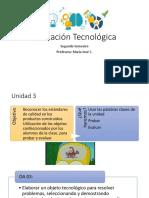 oa 3 tecnología tercero básico