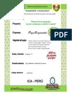 Proyecto Elaboración de Empanadas de Pato y Quinua Para Combatir La Anemia 1