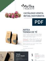 Catalogo ArTea Retail Jul Ago 2019