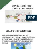 Desarrollo Sustentable y La Materia