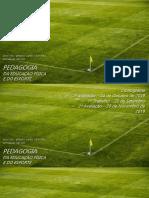 Slide Disciplina Pedagogia da EF e do Esporte