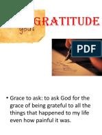 Gratitude Improvement