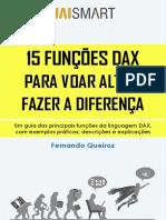 15 Funções DAX Para Voar Alto e Fazer a Diferença