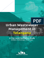 Waste water management-Telangana