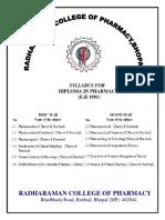 D.Pharm-Syllabus First year.docx