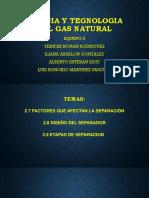 Ciencia y Teg. Del Gas Natural Exp.