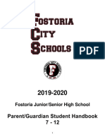 Parent/Guardian/Student Handbook