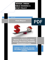 West Bengal Urban Affordable Housing and Habitat Policy
