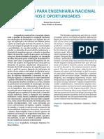 Artigo Engenharia Nacional Aspectos e Oportunidades