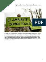 OPDS Hacete Cargo de Las Áreas Naturales Bonaerenses