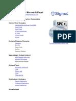 SPCXL Examples