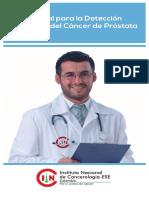 Manual de Deteccion Temprana Del CA de Prostata