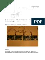 Entwurfsarbeit Hardwarebeschreibungssprachen