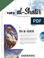 Ibn Al Shatir PPT