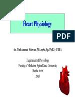 KulPak - 1 Heart Physiology 2017 Dr. Muhammad Ridwan, MAppSc, SpJP (K) - FIHA