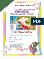 Informe de La Cultura Chavin