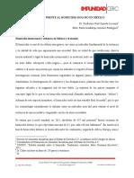 Impunidad Frente Al Homicidio Doloso en Mexico Diciembre 2016