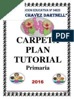 Carpeta Plan Tutorial 2016 Mejorado - Liz