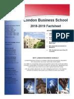 LBS Exchange Fact Sheet 2018 19