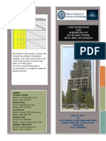 Brochure of Cost Estimation and Scheduling