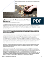 ¿El dinero realmente afectan la motivación_ Una revisión de la investigación - Tomas Chamorro-Premuzic - Harvard Business Review.pdf