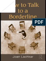 Joan Lachkar - How to Talk to a Borderline (2010, Routledge)