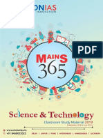 Science and Technology Sep June English 2019