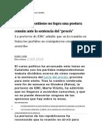 3 septiembre 2019 proces catalán
