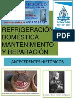 REFRIGERACIÓN DOMESTICA