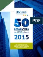 50 Excelentes Isotools 2015