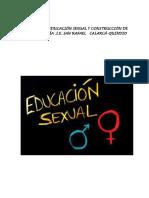 Proyecto Educación Sexual 2018 (1)