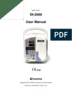 Bomba de infusión -  Medifusion DI2200