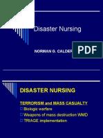 Disaster Nursing Lecture