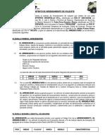Contrato de Trabajo de Volquete Ajv-851