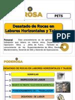 PETS - DESATADO DE ROCAS