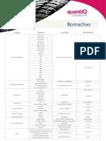 Catálogo Borracha quantiq