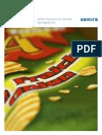White Pigments for Flexible Packaging Inks Brochure - Kemira