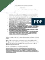 Actividad Aprendizaje 04. Resistencia y Resistores