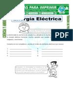 Ficha-Energía-Eléctrica-para-Tercero-de-Primaria