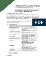 Ejercicio Practico Especificaciones Tecnicas