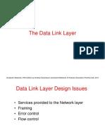 Data Link Layer Design Issue
