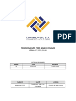 CCC OPER PR 003 Procedimiento Para Izaje de Cargas Rev1