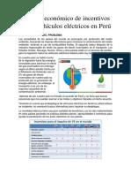 Análisis Económico de Incentivos en Los Vehículos Eléctricos en Perú