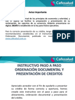 Instructivo de Ordenacion Documental