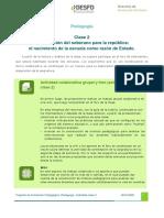 Actividad Clase 2 Pedagogia