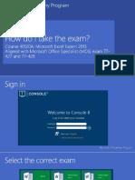 How Do I Do the Exam